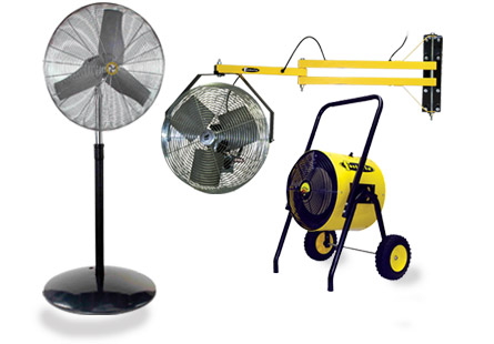 Industrial Fans & Heaters