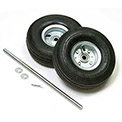 "Replacement Pneumatic 10"" Hand Truck Wheel Kit"