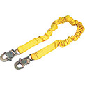 DBI/Sala® Absorbing Lanyard with Snap Hooks, Yellow