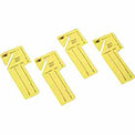 MMF Key Tags Out-Key Control, Yellow, 24 Tags