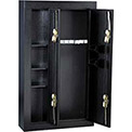 "Homak 8-Gun Double Door Steel Security Gun Safe, Black - 32"" x 10"" x 57"" HS30136028"