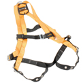 Miller Titan Non-Stretch Harness, Tongue Buckle Legs, Orange