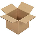 "Corrugated Boxes, 8"" x 8"" x 8"", Single Wall, 25 Pack"