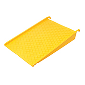 "Spill Containment Poly Pallet Ramp, 45-1/2""L x 32""W, Yellow"