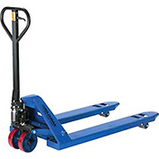 Low Profile Narrow Fork Pallet Jack Truck, 4500 Lb. Capacity, 21 x 36