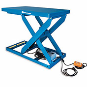 "BISHAMON OPTIMUS Hydraulic Scissor Lift Tables - 2000-Lb. Capacity - 28""Wx48""D Platform"