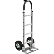 Aluminum Hand Truck Pin Handle, Pneumatic Wheels