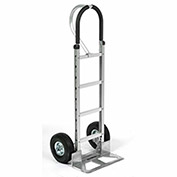 Aluminum Hand Truck Loop Handle, Pneumatic Wheels