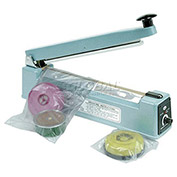 "Impulse Heat Sealer - 8"" Seal Length with cutter"