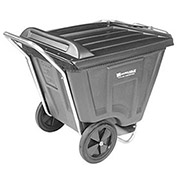 AKRO-MILS Low Profile 90 Gallon Tilt Cart With Lid
