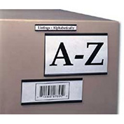 """3""""W X 2""""H Magnetic Card Holders, 25/Pk"""