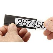 """6""""W X 1""""H Magnetic Card Holders, 25/Pk"""