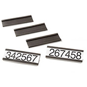 "Magnetic Label Holders 6""W X 3""H, 25/Pk"