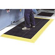 "NoTrax Drainage Mat Grease And Chemical Resistant, 42"" x 96"" x 7/8"", Black"