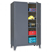 "STRONG HOLD Ultra-Capacity Lifetime Cabinet - 60x24x78"" -Dark Gray"