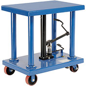 Foot Control Work Positioning Post Lift Table, 6000 Lb. Cap