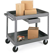 "EDSAL 500-Lb. Capacity Carts - 36""Wx24""D Shelf"