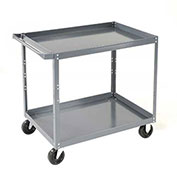 Edsal 2 Shelf Steel Stock Cart 36 x 24