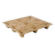 Nestable Presswood Pallet, 42x42x5-5/8 - Pkg Qty 10