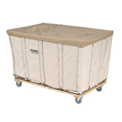 Canvas Basket Bulk Truck, 16 Bushel
