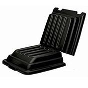 "Lid 9T22 for 1/2 Cubic Yard Rubbermaid Structural Foam Plastic Tilt Truck, 57-3/8""L x 26-7/8""W"