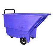Bayhead 1/3 Cubic Yard Tilt Truck, Light Duty, 275 Lb. Capacity, Blue