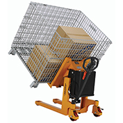 Portable Container, Pallet & Skid Tilterm, Battery Powered, 2200 Lb. Capacity