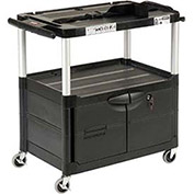 Rubbermaid Audio Visual Cart 33 x 19 x 33 W/ Locking Cabinet