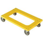 "Plastic Dolly with Flush Deck, 5"" Casters"