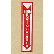 NMC M23P Fire Extinguisher Sign - Vertical - Vinyl