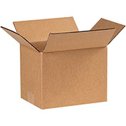 "8x6x6"" Cardboard Corrugated Boxes, 200 lb. Test/ECT-32 Kraft, 25 Pack - Pkg Qty 25"