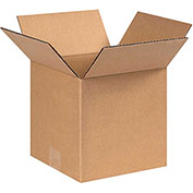 """Box Partners 8 x 8 x 8"""" Corrugated Boxes - 25 Pack, 888"""