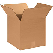 """14""""x14""""x14"""" Corrugated Boxes, 200lb. Test/ECT-32 25 Pack"""