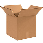 """Box Partners 12 x 12 x 12"""" Corrugated Boxes, 25 Pack, 121212"""
