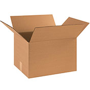 "Cardboard Corrugated Box, 18"" x 14"" x 12, 25 Pack"
