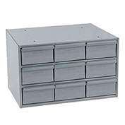 Durham Steel Storage Parts Drawer Cabinet, 9 Drawers