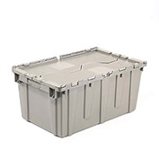 Attached Lid Tote - 22x15-1/4x9-5/8""