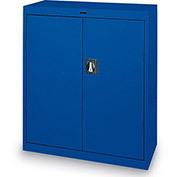 "SANDUSKY LEE Standard-Industrial Storage Cabinets - 46x24x42"" - 3 Shelves - Blue"