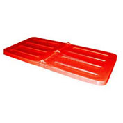 Bayhead Lid for 2.2 Cubic Yard Tilt Truck, Red