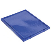 Lid for Stack And Nest Shipping Containers SNT240, Blue - Pkg Qty 3