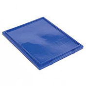 Lid for Stack And Nest Shipping Containers SNT300, Blue - Pkg Qty 3
