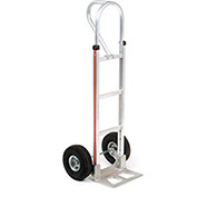 Magliner Aluminum Hand Truck with Loop Handle, Pneumatic Wheels