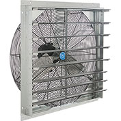 "30"" Exhaust Ventilation Fan With Shutter, Single Speed"