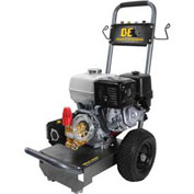 BE Pressure B3713HC 3,700 PSI Mobile Pressure Washer 13hp Honda Gx Engine