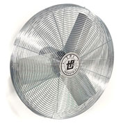 "TPI 24"" Wall Mount Fan Head Non Oscillating, 1/4HP, 6,800 CFM, 1PH (Wall Bracket Non Included)"