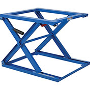 Stell Pallet & Skid Carousel Stand, Blue, 5000 Lb. Capacity