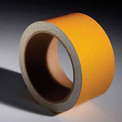"INCOM Reflective Safety Tape, 2""W x 30""L, Solid Yellow, 1 Roll"