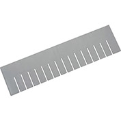 "QUANTUM Long Dividers For Dividable Containers - Fits 22-1/2x17-1/2x6"" Containers - Package of 6"