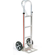 Magliner Aluminum Hand Truck with Loop Handle, Balloon Wheels