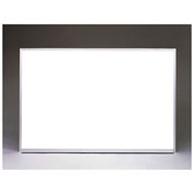 "Ghent Aluminum Frame Non-Magnetic Whiteboard, 18"" x 24"""